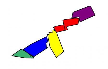 mapa geomètric escola