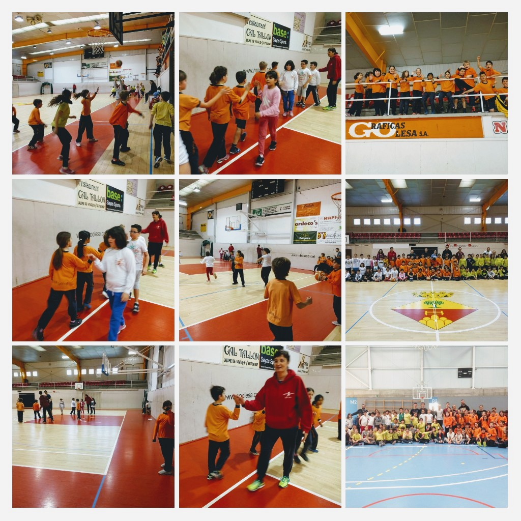 Collage trobada bàsquet