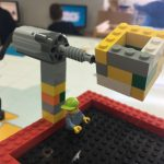 Una cistella robotitzada que va girant!
