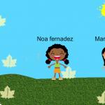 Noa i Marta divuix