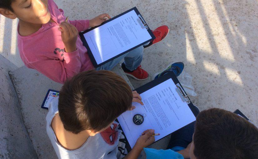 Els alumnes de 4 EP aprenem a orientar-nos!